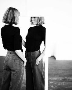 Model: Lou Schoof   Photographer: Kat Irlin