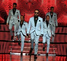 Backstreet Boys 20 years and still going strong. They all have beautiful voices and amazing music.