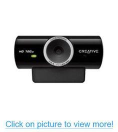 86a4406a2c7 Creative 73VF077000000 Live!Cam Sync HD 720p 1280x720 USB2.0 Webcam