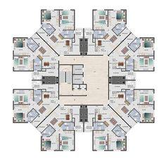 plantas de edificios - Pesquisa Google