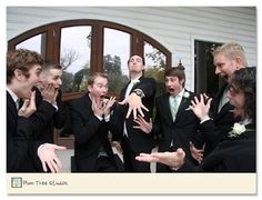 groomsmen pic. so silly