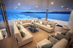 The All Inclusive Luxury Motor Yacht Charter Yacht Luxury, Luxury Yacht Interior, Boat Interior, Luxury Boats, Yacht Design, Catamaran Design, Sunseeker Yachts, Bateau Yacht, Private Yacht