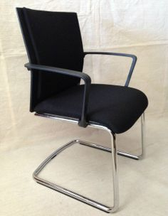 STEELCASE Werndl #1 ARMCHAIR Cantilever OFFICE CHAIR Premium Quality MODERNISM
