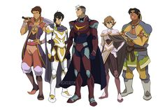 Current Paladins with the originals armor....OHHH MAN SO COOL!
