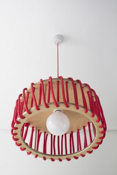 Macaron Plywood Lamp by Silvia Ceñal Design Studio made in Spain on CrowdyHouse