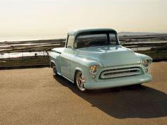 1957 Chevy Truck Front View Horizon