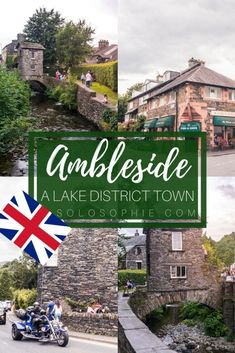 Lake District Guide: Best things to do in Ambleside, a quintessentially Cumbrian town in North England. Woodland walks, watersports and pretty architecture. National Trust, Nord England, Cornwall England, Yorkshire England, Yorkshire Dales, London England, North Yorkshire, Europe Travel Tips, Travel Guides