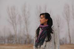映画「黒四角」:image008 Plaid Scarf, Fashion, Moda, Fashion Styles, Fashion Illustrations