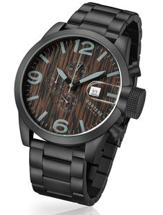 Cortese Gran Torino Wood Chronograph Kopen? - Watch2Day