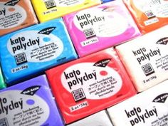 Polyclay - Kato PolyClay Color Mixing Recipes - #Polymer #Clay #Colormix
