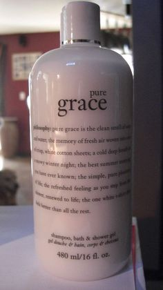 Philosophy PURE GRACE 3 in 1 shampoo, bath and shower gel 16 oz New Sealed #Philosophy