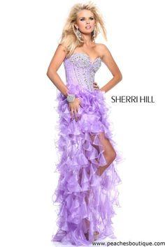 Sherri Hill Prom Dresses and Sherri Hill Dresses 1543 at Peaches Boutique