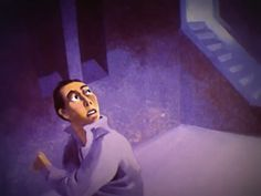 """And innocent though we were, with dread, We passed those eyes of buckshot lead; Till one cried: """"Hangman who is he For whom you raise the gallows-tree?""""  Dark animated short, The Hangman (1964). By Paul Julian and Les Goldman. You might remember Paul Julian from The Tell-Tale Heart short that I featured some time ago; he was also the """"voice"""" of the Road Runner.  The Hangman was based on a 1951 poem by Maurice Ogden."""