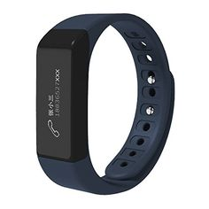 Fitness Smart Bracelet CEStore I5 Plus Bluetooth Wristband with Steps Distance Calorie Sleep Record Remote Control Support APP Data Sync for IOS 70 Android 43 Above for Healthy LifeDark Blue ** Check out this great product. (Note:Amazon affiliate link)
