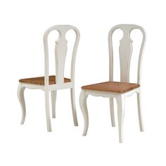 Chantry White Wooden Dining Chair (C576) with Free Delivery | The Cotswold Company