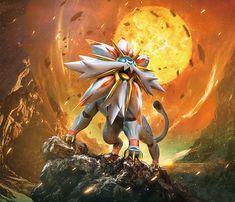 Solgaleo Pokemon Sun and Moon
