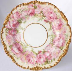 Ceramics & Porcelain Aspiring Antique China Bowl Chrysanthemums Gilded Germany Prussia Erdman Schlegelmilch Bowls