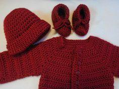 Baby Cardigan baby sweater little gem by TillieLuvsTreasures
