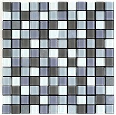 Veneziana Valore Peel N Stick Glass Mosaic Tiles 1 X 1 At