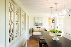 This beautiful dining room couldn't be more perfect for entertaining...
