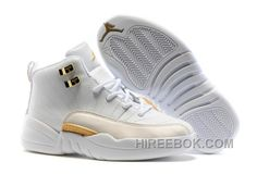 "http://www.hireebok.com/2017-kids-air-jordan-12-ovo-white-basketball-shoes-super-deals-tndrfe.html 2017 KIDS AIR JORDAN 12 ""OVO WHITE"" BASKETBALL SHOES SUPER DEALS TNDRFE : $79.00"
