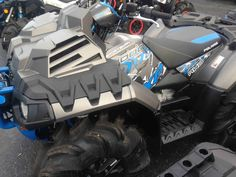 """New 2017 Polaris Sportsman® XP 1000 High Lifter Edition ATVs For Sale in North Carolina. HIGH LIFTER EDITION TITANIUM Xtreme Performance High Lifter Edition Package 29.5"""" HL Outlaw 2 Tires with Custom Aluminum Wheels High Performance Close Ratio On-Demand All Wheel Drive (AWD)"""