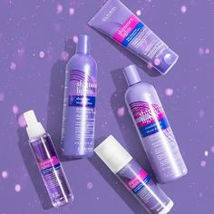 Shinin' Shinin' Shinin' Shinin' yeah… ✨🤩 #ShimmerLights! . Have you heard about the NEW Shimmer Lights trio? Our Violet Toning Mask, Leave-in Styling Treatment, and Thermal Shine Spray are everything you need to #KeepUpYourBlonde! 💜Find now at @ultabeauty. #ClairolProfessional Shine Spray, Shimmer Lights, Red Bull, Drinks, Collection, Drinking, Beverages, Drink, Beverage