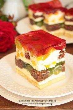 Pizza Recipes, Baking Recipes, Cake Recipes, Healthy Recipes, Sweets Cake, Best Food Ever, Bread Cake, Polish Recipes, Chocolate Cake
