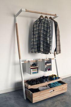 garderobe selber bauen schoner wohnen, 9 besten garderoben bilder auf pinterest | kleiderständer, Design ideen