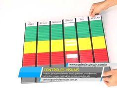 A melhor forma de organizar o seu estoque - Kanban - Controles Visuais