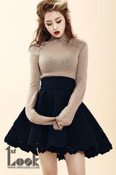 4Minute's Ga Yoon 1st. Look Korea Magazine Vol.51