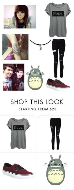 """""""Day in Life with Dan and Phil"""" by youtube-freak-4-life ❤ liked on Polyvore featuring Miss Selfridge and Vans"""