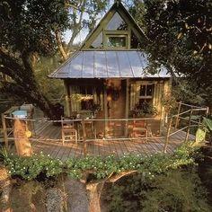 Flower Ringed Tree House, Fall City, Washington