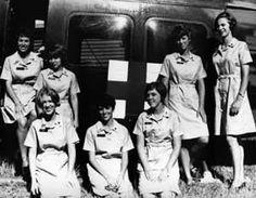 Army nurses in Vietnam. Vietnam War. http://www.pinterest.com/jr88rules/vietnam-war-memories/ #VietnamMemories