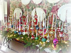 Vintage Tree Topper collection   via The Old Parsonage blog