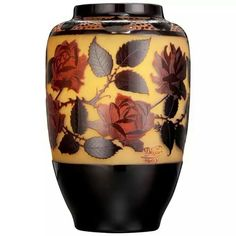 Paul Nicolas D'Argental Monumental Vase, circa 1915  Actually signed P.Nicolas rather than D'Argental denoting this was.made personally by Nicolas