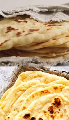 Soft Flatbread Recipe, Easy Flatbread Recipes, Homemade Flatbreads, Comida Diy, Cheesy Recipes, Best Easy Recipes, Tiny Food, Baking Recipes, Recipes With Yeast