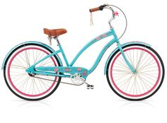 This is a girl's bike. I had one. But, without the fancy brakes.