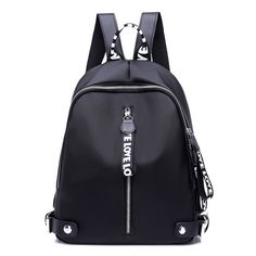 Hot Deals $19.81, Buy New 2017 Ribbon Nylon Oxford Backpack Female Colorful Letters Travel Backpacks for Women Casual Canvas Waterproof School Bag