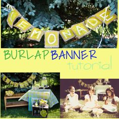 How to make a burlap banner. Can't wait to get on this for fall, christmas & a birthday one so we can upcycle these & make a tradition with our decorations. Found at: Tiaras and Tantrums - Blog - Burlap Banner Tutorial |DIY Tantrums And Tiaras, Pumpkin Patch Birthday, Burlap Canvas, How To Make Banners, Decorating Ideas, Craft Ideas, Diy Photo, Christmas Gifts, Holiday