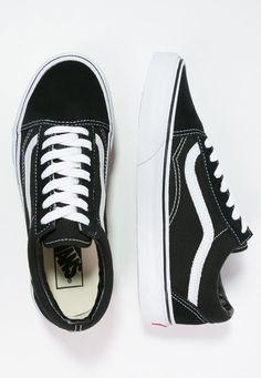 0b14ef99127 Vans OLD SKOOL - Chaussures de skate - black - ZALANDO.BE Vans Old Skool