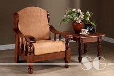 Solid Wood Maharaja Grand Sofa Single Seater section of information related to. Wooden Sofa Designs, Wooden Sofa Set, Sofa Set Designs, Wood Sofa, Solid Wood Furniture, Farmhouse Furniture, Furniture Deals, Online Furniture, Furniture Shopping