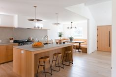 An old 1940s home in Los Angeles gets a gut renovation and is transformed into a modern, Scandinavian-inspired bungalow with an added ADU.