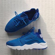 sports shoes a7c8d a4cdf Nike Air Huarache Run Ultra Photo Blue White Nike Air Huarache Run Ultra  Photo Blue White
