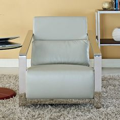 Erika Upholstered Arm Chair - Accent Chairs at Hayneedle