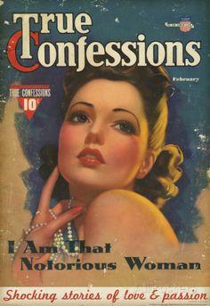 True Confessions Magazine Cover Poster