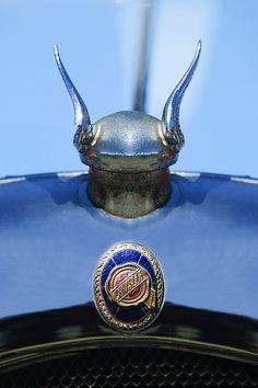 1928 Chrysler Model 72 Deluxe Roadster Hood Ornament by Jill Reger