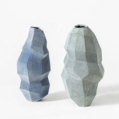 Turi Heisselberg Pedersen . geometric vases, 2015