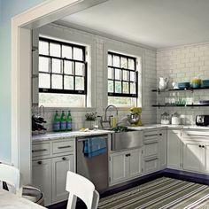32 идеи оформления кухни плиткой Метро - InMyRoom.ru