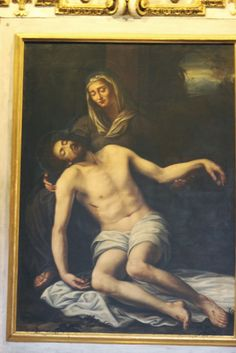 Bernardino Gagliardi - Pietà, 17th century - Italy. Better resolution not found. Grazie a @FinestreArte per l'aiuto!